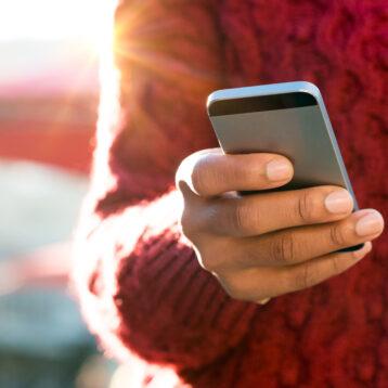 fanatieke smartphone-ouders