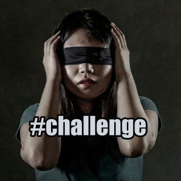 internet challenge blind