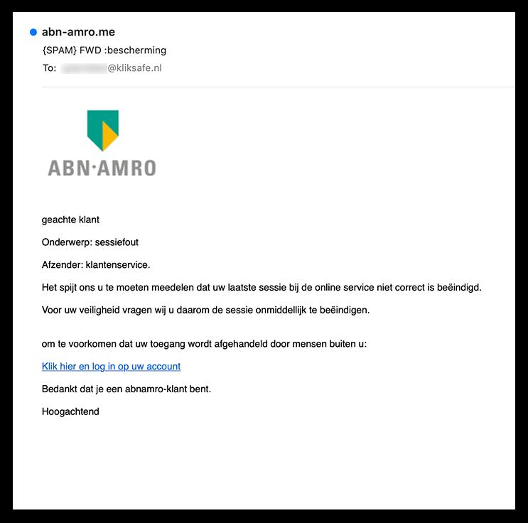 abnamro phishing